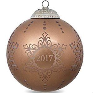 Hallmark Christmas Commemorative Ornament 2017